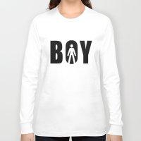 boy Long Sleeve T-shirts featuring boy by Steffi Louis