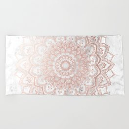 Pleasure Rose Gold Beach Towel