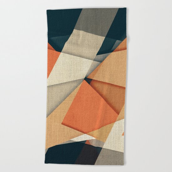 Les Sandales de San Francisco Beach Towel