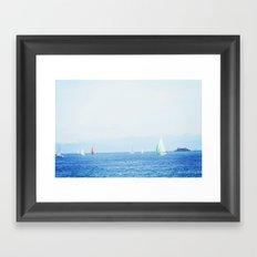 Alpine Heaven Framed Art Print