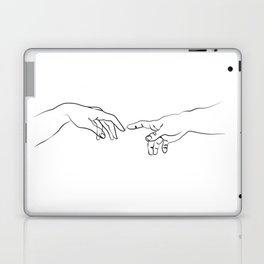 The creation of adam Laptop & iPad Skin