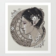 Merrill Art Print