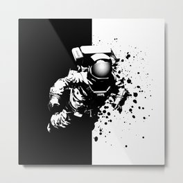 Cosmic Breakthrough Metal Print