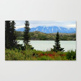 View of the Rockies Canvas Print