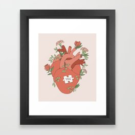 The Missing Piece Framed Art Print