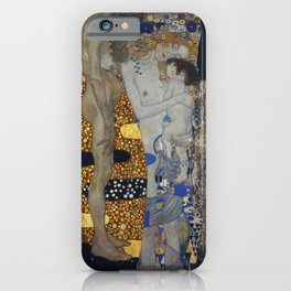 Gustav Klimt - The Three Ages Of Woman iPhone Case