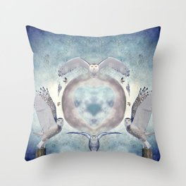 Whispers of my imagination Throw Pillow