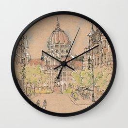 parlament of Hungary Wall Clock