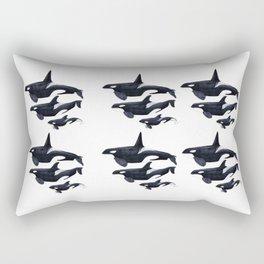 Orca design Rectangular Pillow