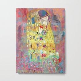 Eric Chestier - Klimt's Kiss 2.0 Metal Print