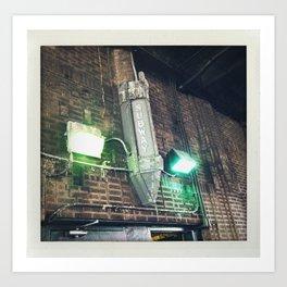 brooklyn subway, park slope Art Print