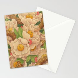 Happy Floral Stationery Cards
