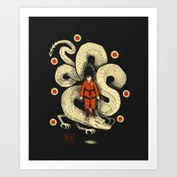 dbz Art Prints featuring dbz by Louis Roskosch