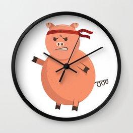 Pork Chop Wall Clock