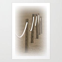 Remembering The Seaside Art Print