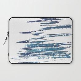 Streaky Blue Water Laptop Sleeve
