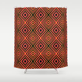 Interlock - Optical Series 003 Shower Curtain