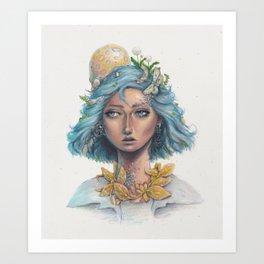 Miraż Art Print