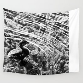 Pied-Billed Grebe Wall Tapestry