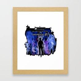 Police Tribute Framed Art Print