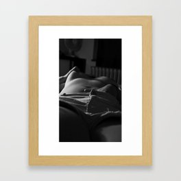 If you want things done right... Framed Art Print
