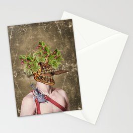 oral sex & flowers Stationery Cards