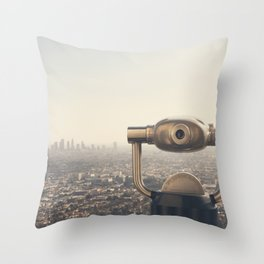 The View: City of Angels Throw Pillow