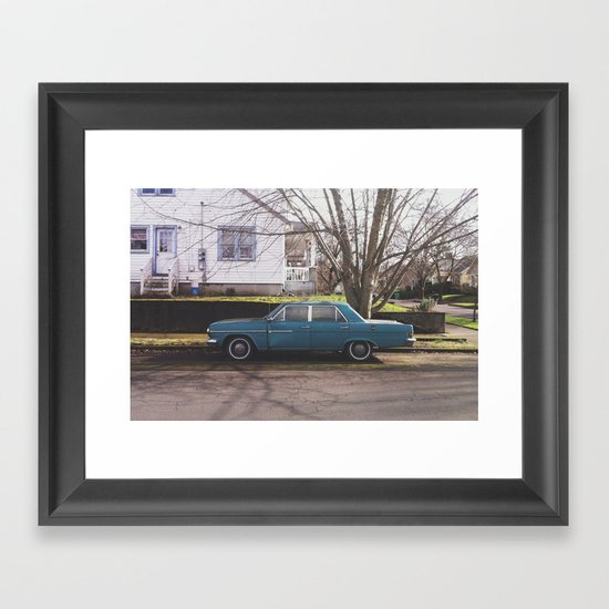 Rambler Framed Art Print