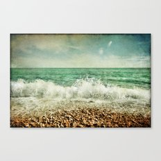 Beside the Sea V Canvas Print