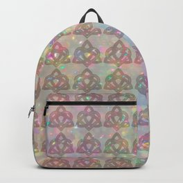 Triquetra knot with heart Backpack
