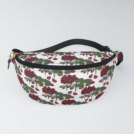 Red Geranium Fanny Pack