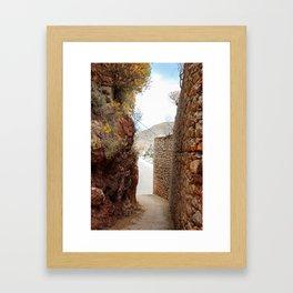 The Way to Greece V Framed Art Print