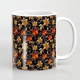 Metall Blumen Coffee Mug