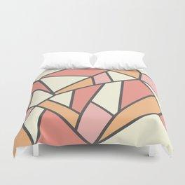 Geometric Colour Pattern V4 Duvet Cover