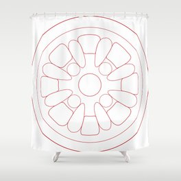 Minilite Shower Curtain