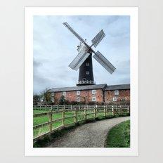 Skidby Windmill Art Print