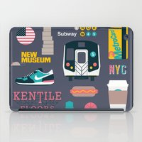 nyc iPad Cases featuring NYC by 914k