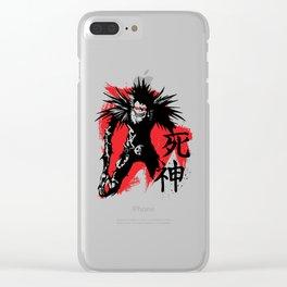 The Grim Reaper Clear iPhone Case