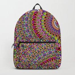 Magic Ornamental Garden Mandala Backpack