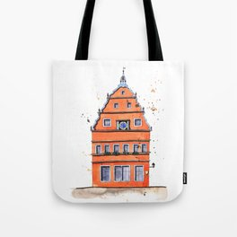 whimsical house in Germany Tote Bag