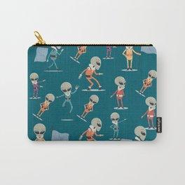 Pattern Horror Alien Flying Object Halloween Carry-All Pouch