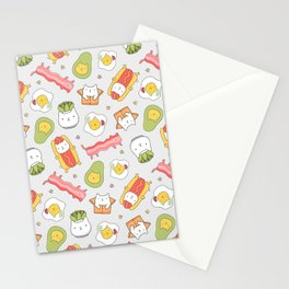 Cat food and succulent Stationery Cards