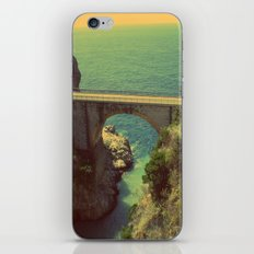 Bridge in Amalfi Coast, Italy iPhone & iPod Skin