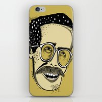 bill iPhone & iPod Skins featuring Bill by Sarah Mould