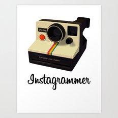 instagrammer Art Print