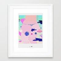 internet Framed Art Prints featuring internet by Alba Blázquez