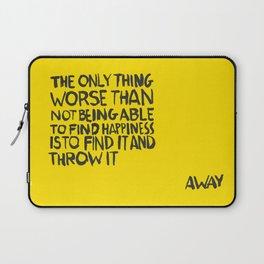 ...Away (Vers. 2) Laptop Sleeve