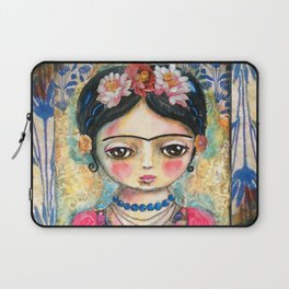 The heart of Frida Kahlo  Laptop Sleeve