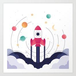 COSMODOG : Planetarium Art Print