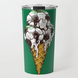 Ice Cream Soccer Balls Travel Mug